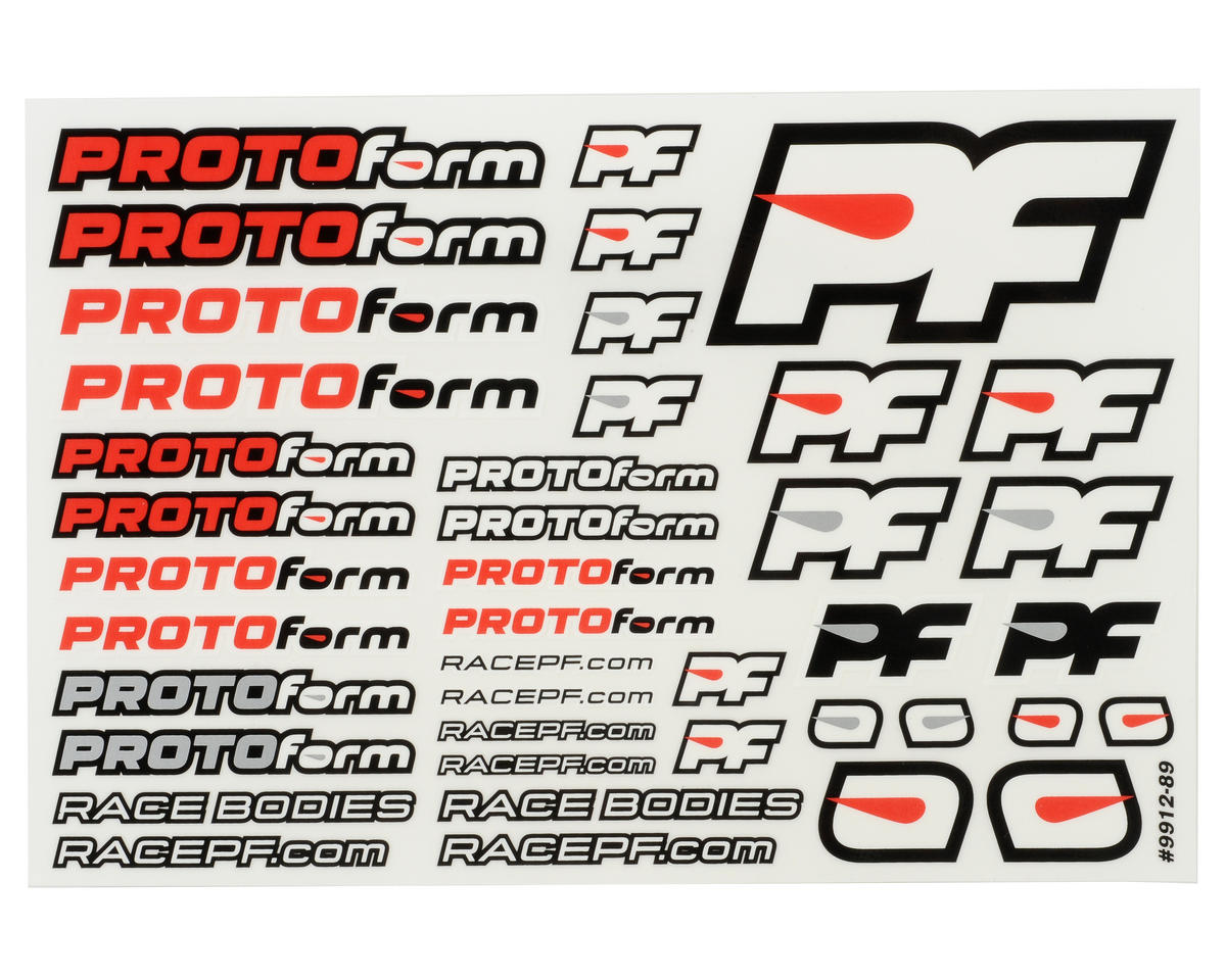 "Protoform P909 ""PRO-Lite"" 1/8 On Road Clear Body (Ultra Light Weight)"