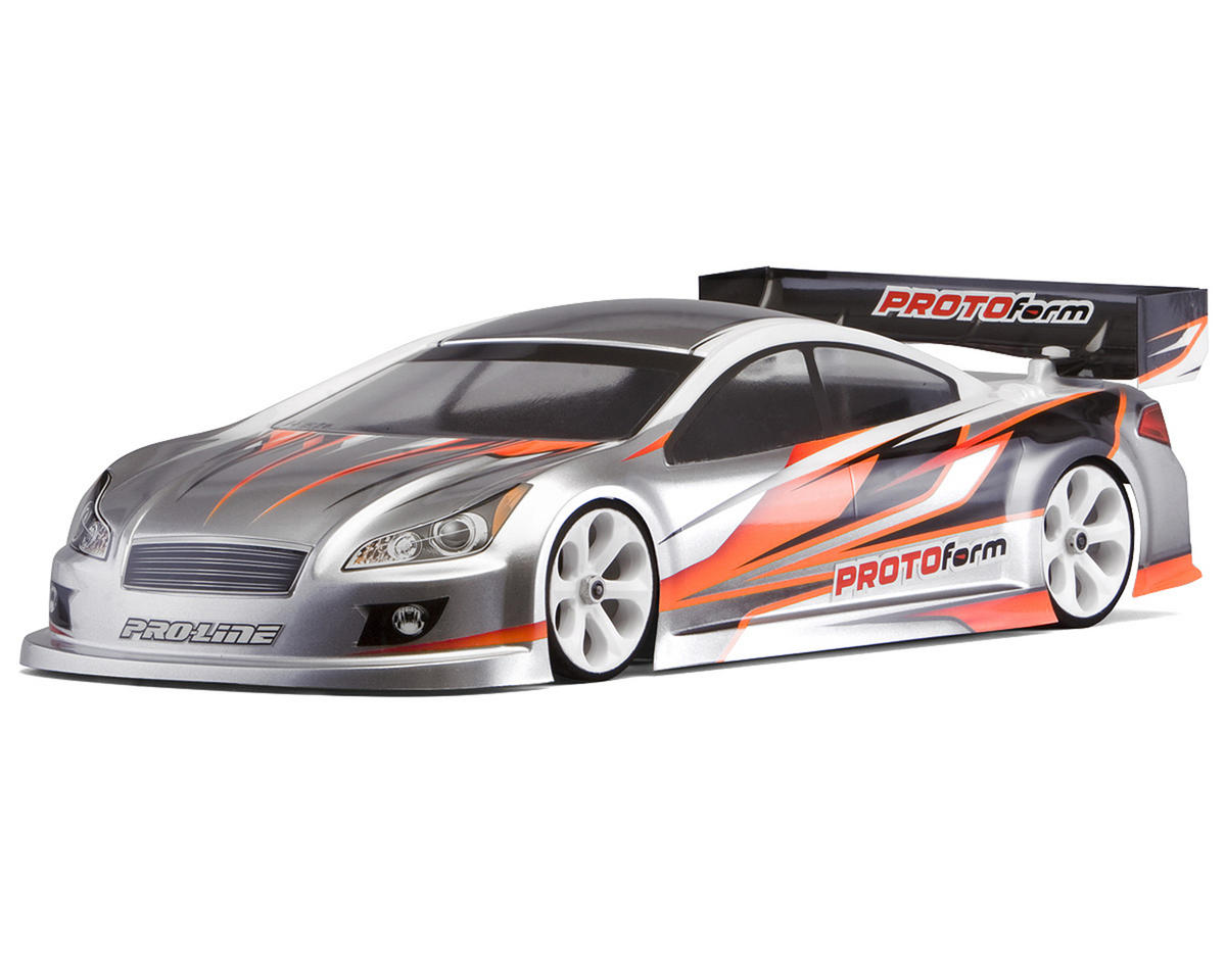 "Protoform P37-N ""PRO-Lite"" Nitro Sedan Body (200mm) (Light Weight)"