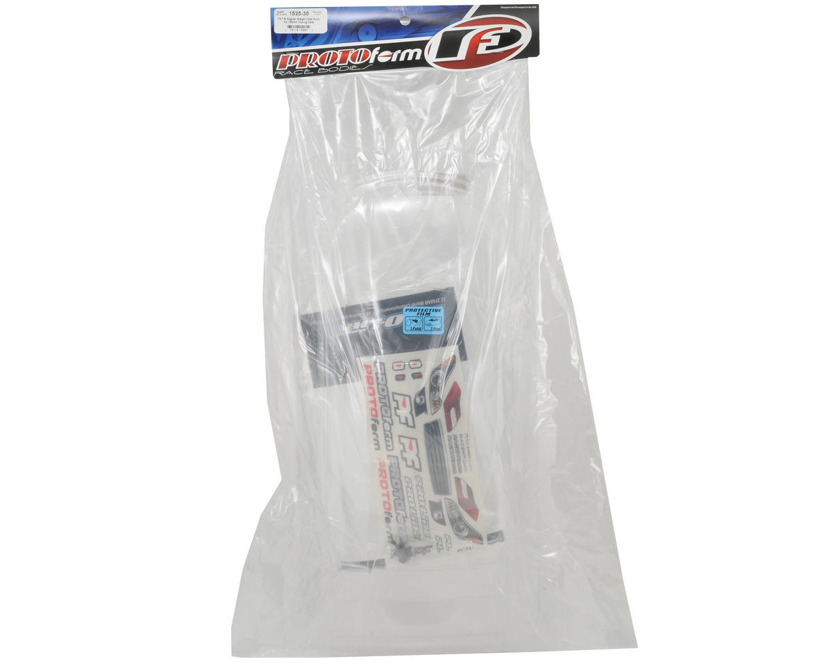 Protoform P37-R Touring Car Body (Clear) (190mm)