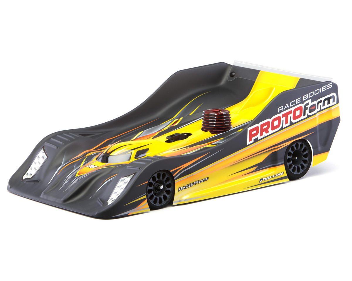 "PFR18 ""PRO-Lite"" 1/8 On Road Clear Body (Ultra Light Weight) by Protoform"