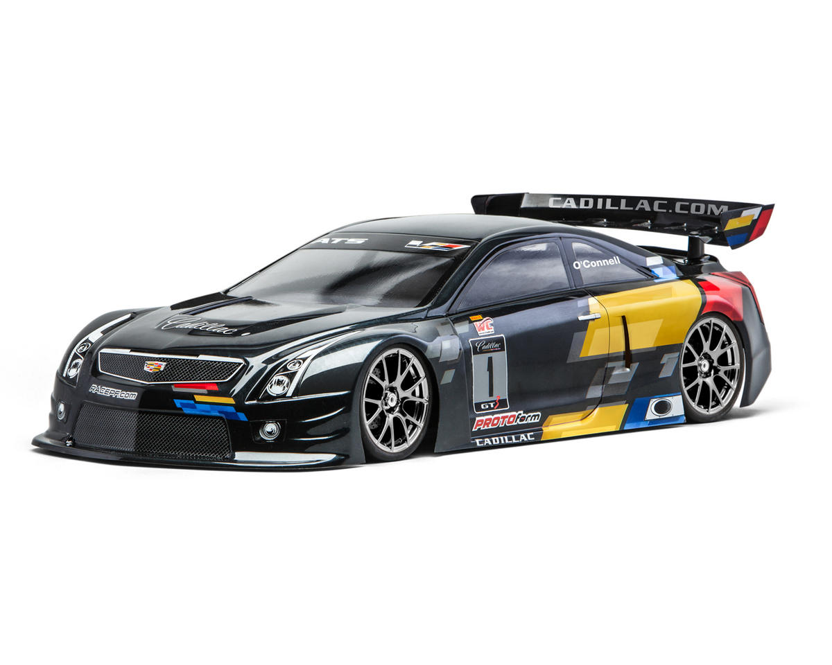 Protoform Cadillac ATS-V.R Touring Car Body (Clear) (190mm)