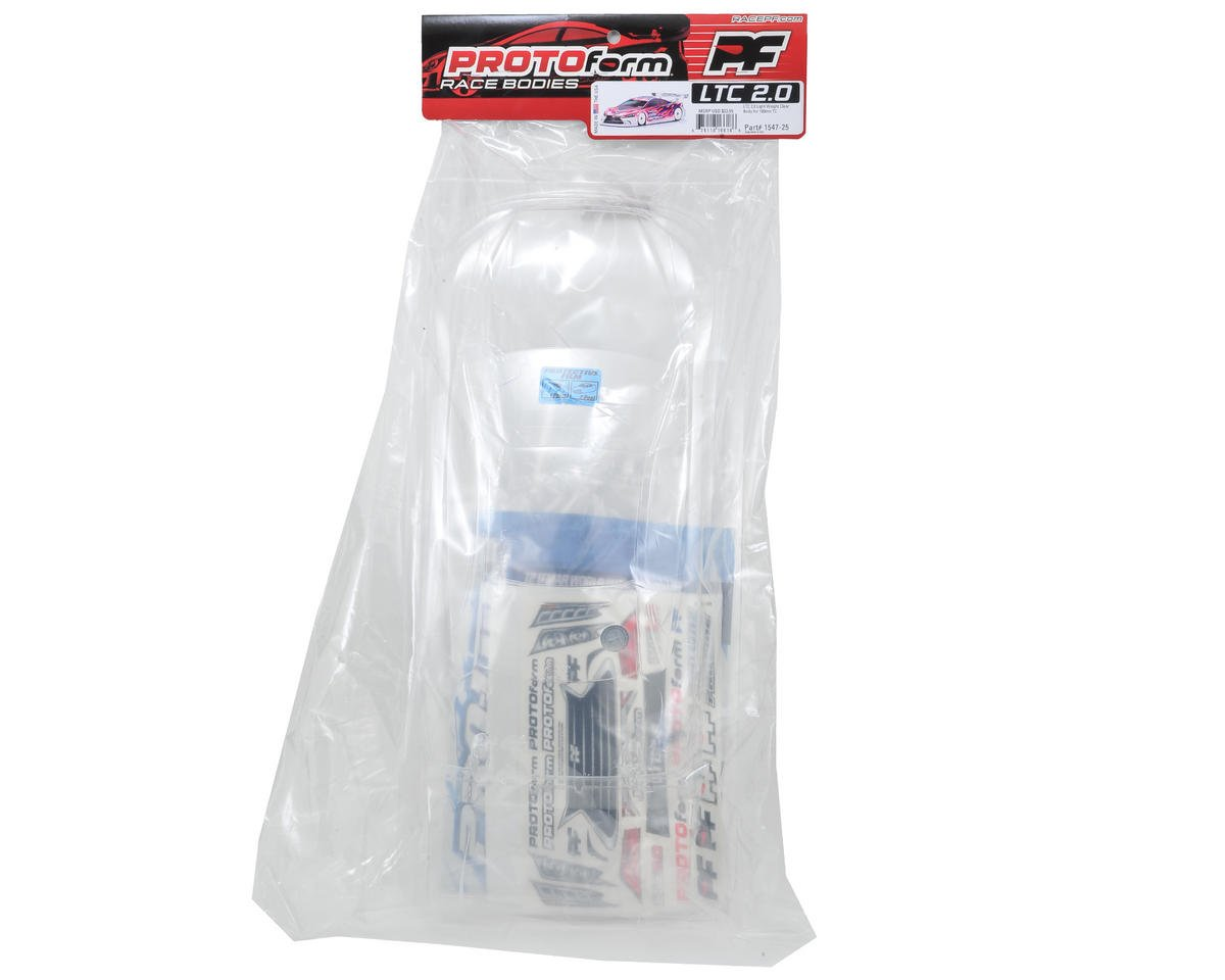Protoform LTC 2.0 Touring Car Body (Clear) (190mm) (Light Weight)
