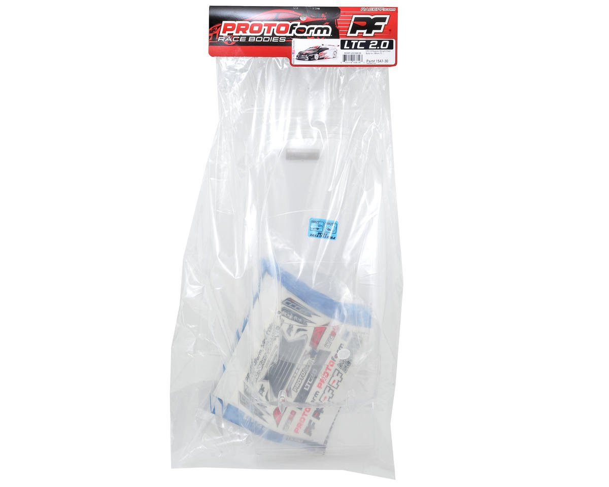 Protoform LTC 2.0 Touring Car Body (Clear) (190mm)