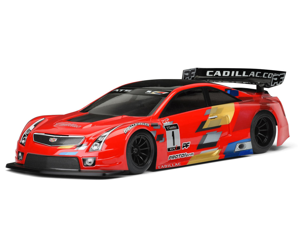 Protoform Cadillac ATS-V.R Touring Car Body (Clear) (200mm)