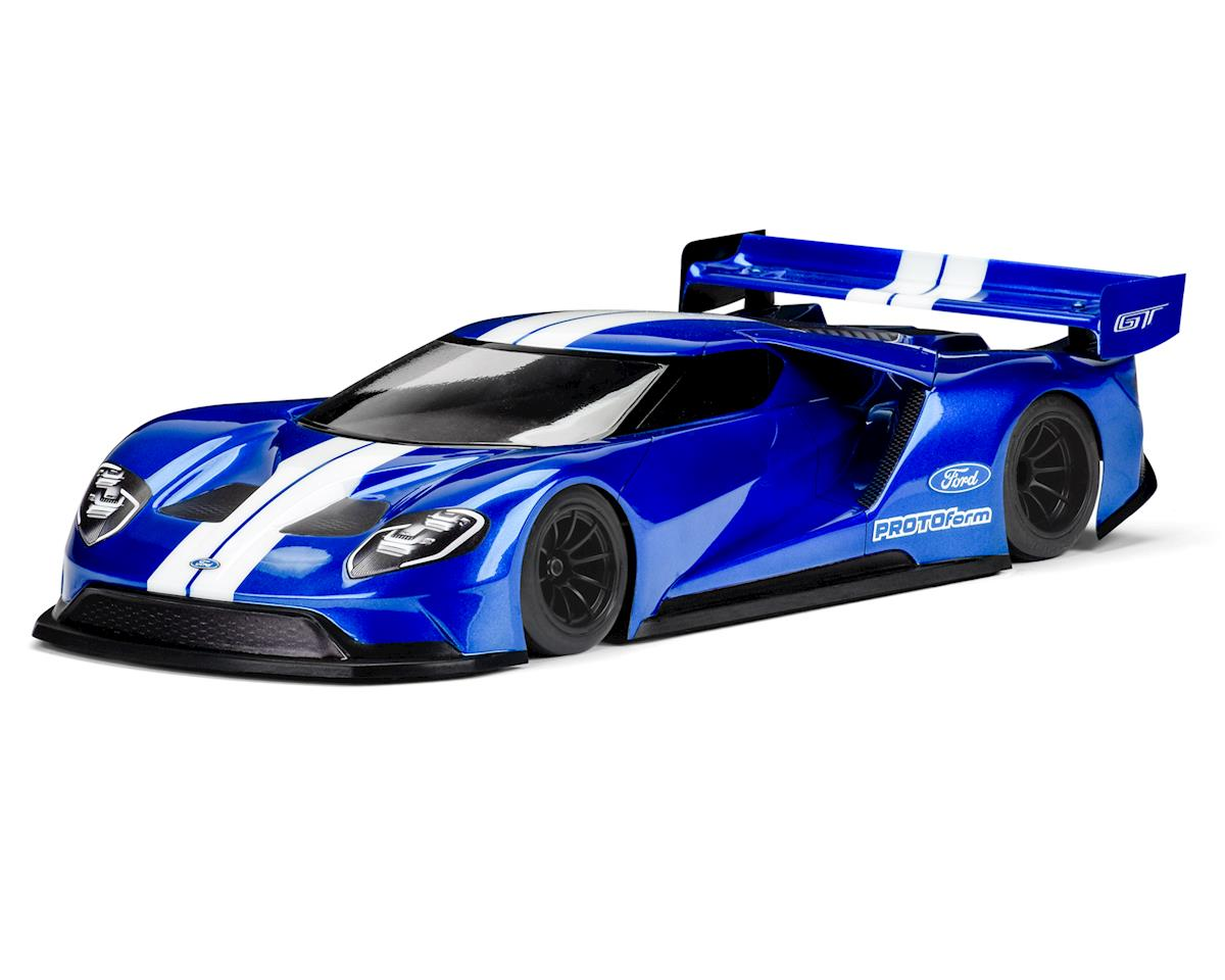 Protoform Ford GT 200mm Pan Car Body (Clear)