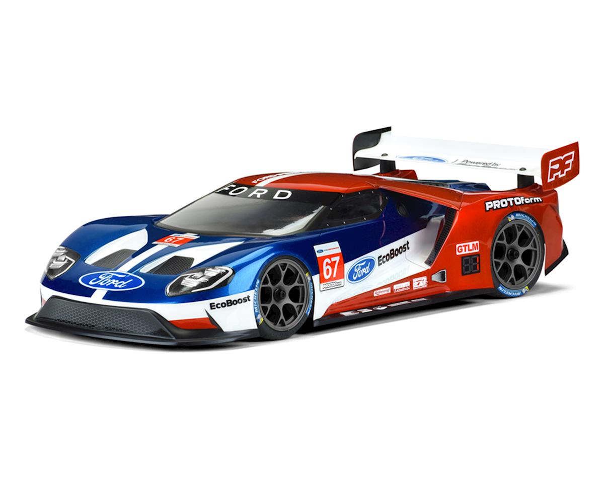 Protoform Ford Gt 1 10 Touring Car Body Clear 190mm Light Consumer Electronics Vehicle Gps Video Weight Prm1550 25 Cars Trucks Amain Hobbies