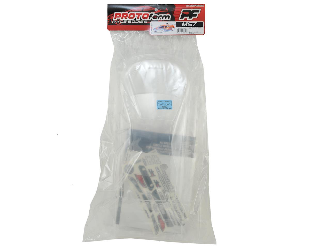 Protoform MS7 Touring Car Body (Clear) (190mm) (Light Weight)
