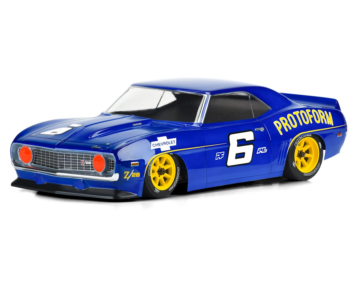 Protoform 1969 Chevrolet Camaro Z28 Vintage Racing Body (Clear)