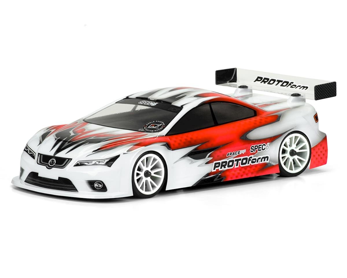 Protoform Spec6 Touring Car Body (Clear) (190mm) (Light Weight)