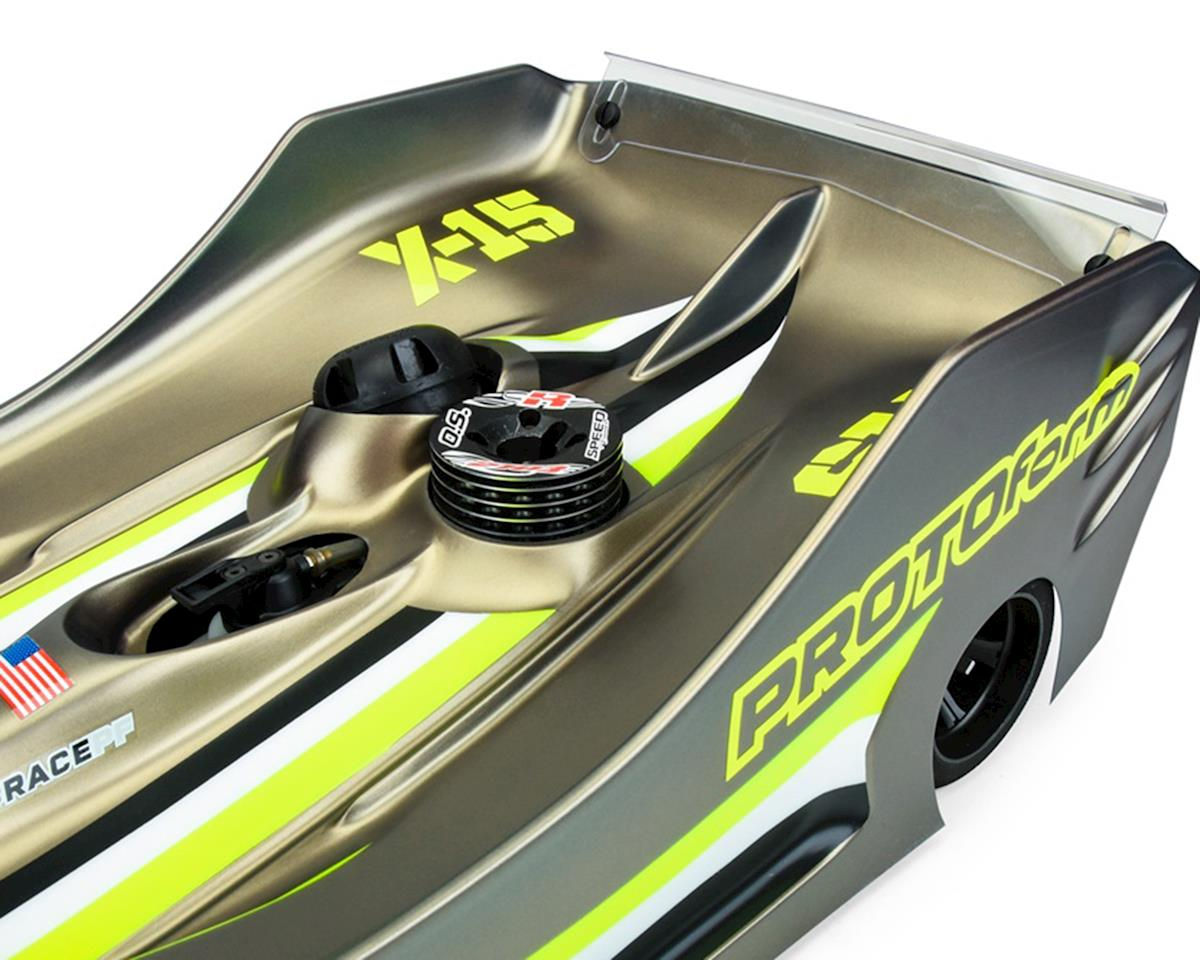 Protoform X15 1/8 On Road Body (Clear) (Lightweight)