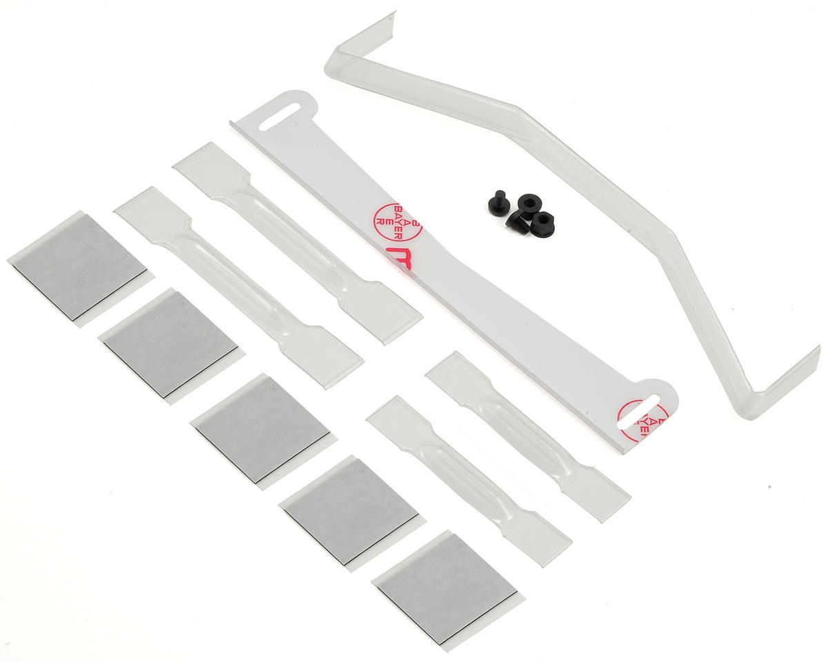 Protoform 1/8 On-Road Body Aero Kit w/Spoiler & Stiffeners