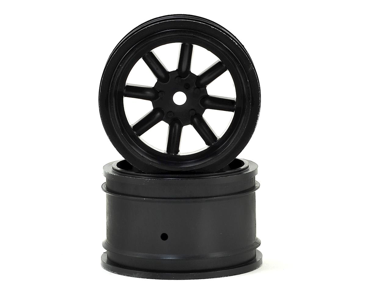 Vintage Racing Rear Wheels (31mm) (2) (Black) by Protoform