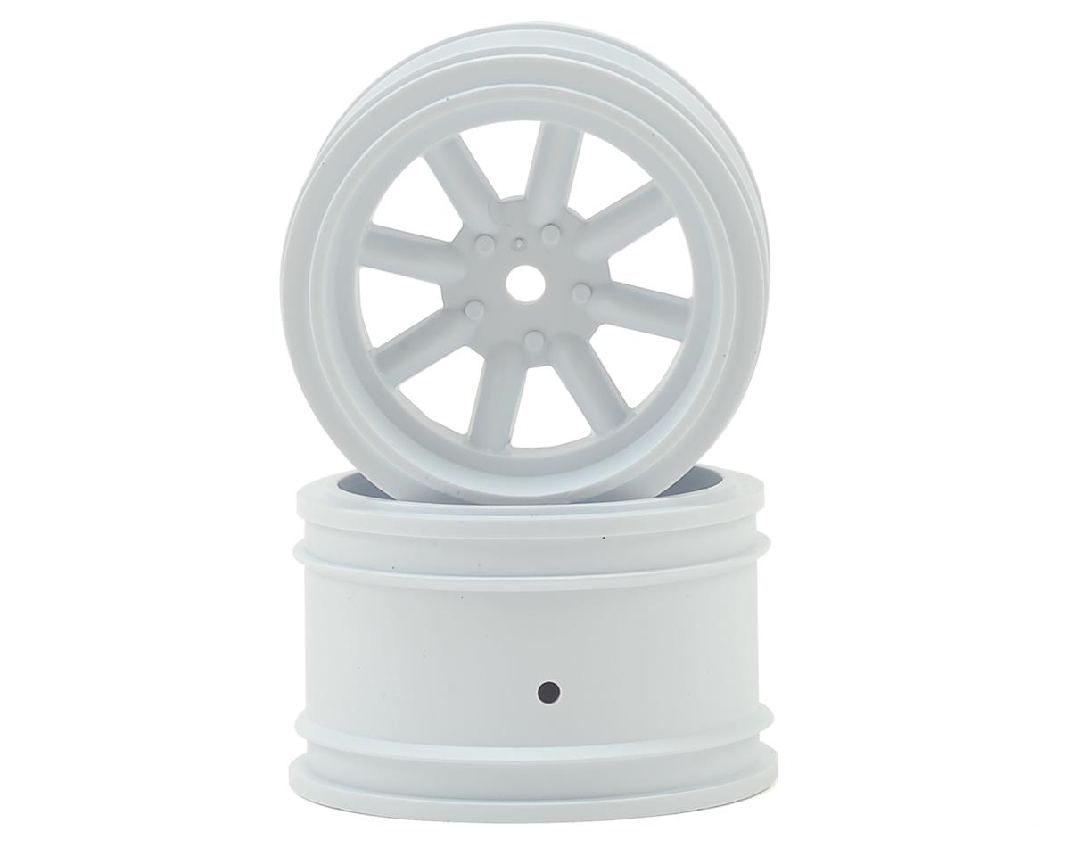 Vintage Racing Rear Wheels (31mm) (2) (White) by Protoform
