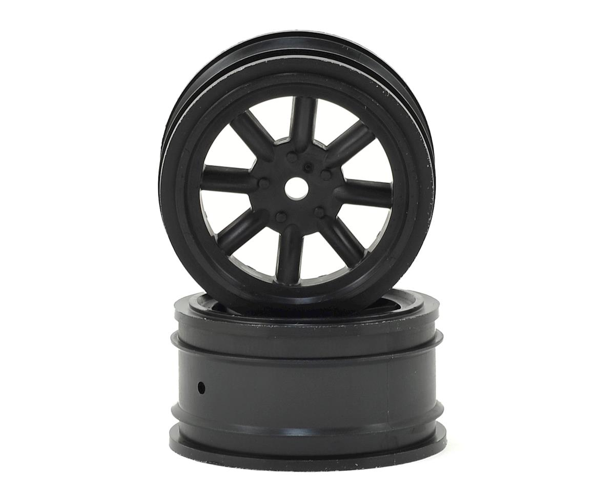 Vintage Racing Front Wheels (26mm) (2) (Black) by Protoform