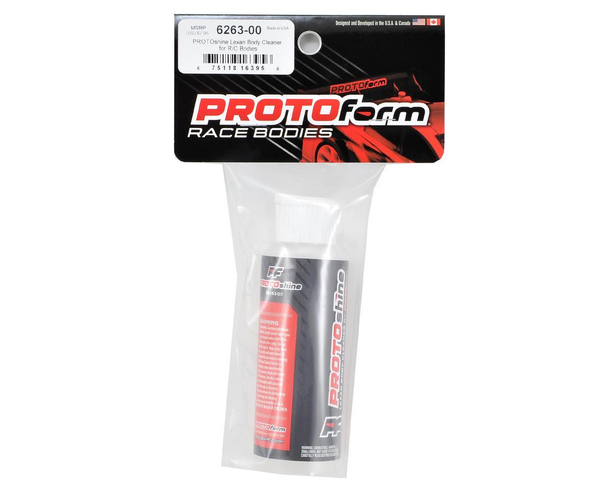 Protoform PROTOshine Lexan Body Cleaner (4oz)