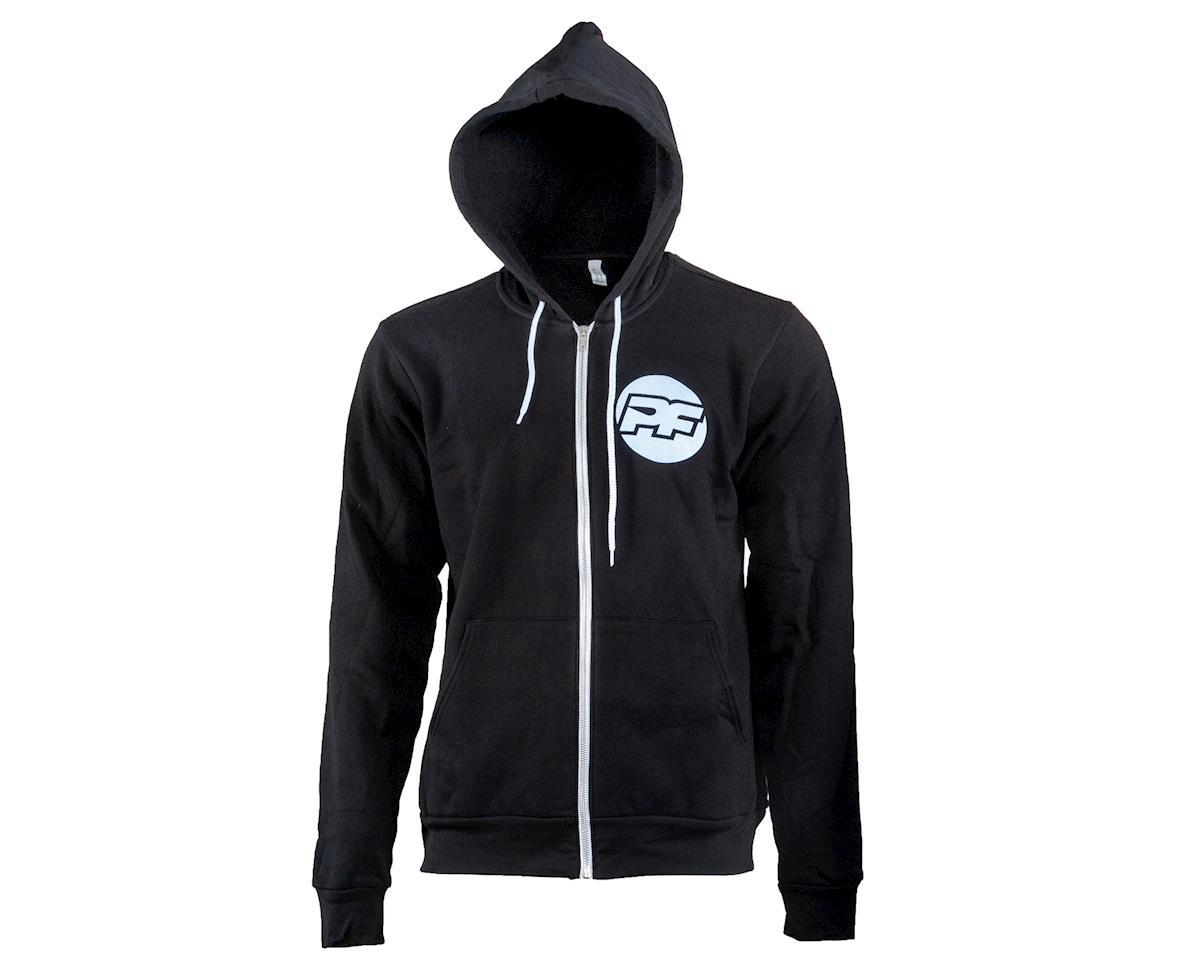 Protoform PF Bona Fide Zip-Up Hoodie Sweatshirt (Black) (2XL)