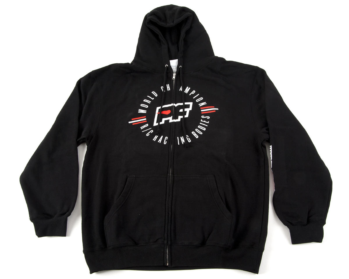 Protoform Champions Zip-Up Hoodie (Black)