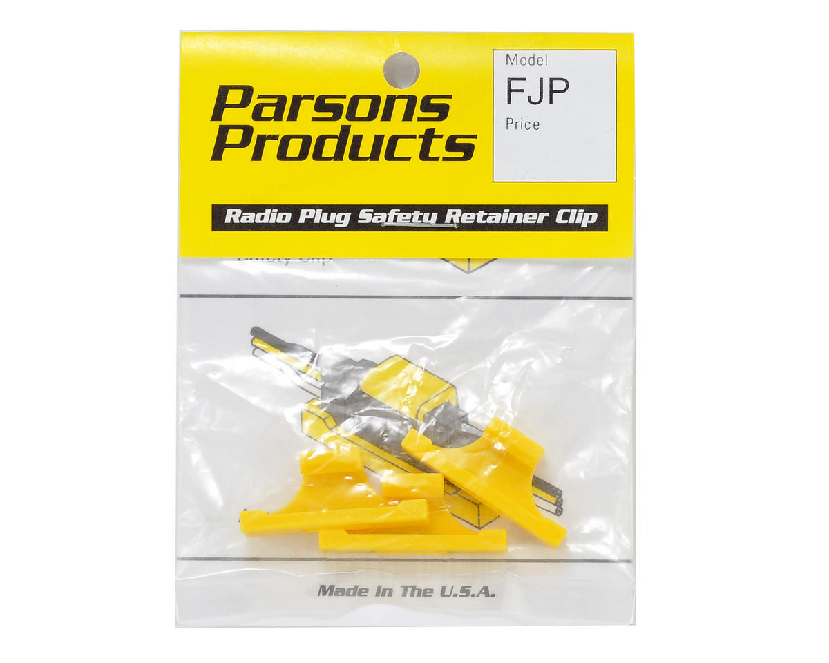 Parson Products Safety Plug Clips (3) (Futaba)