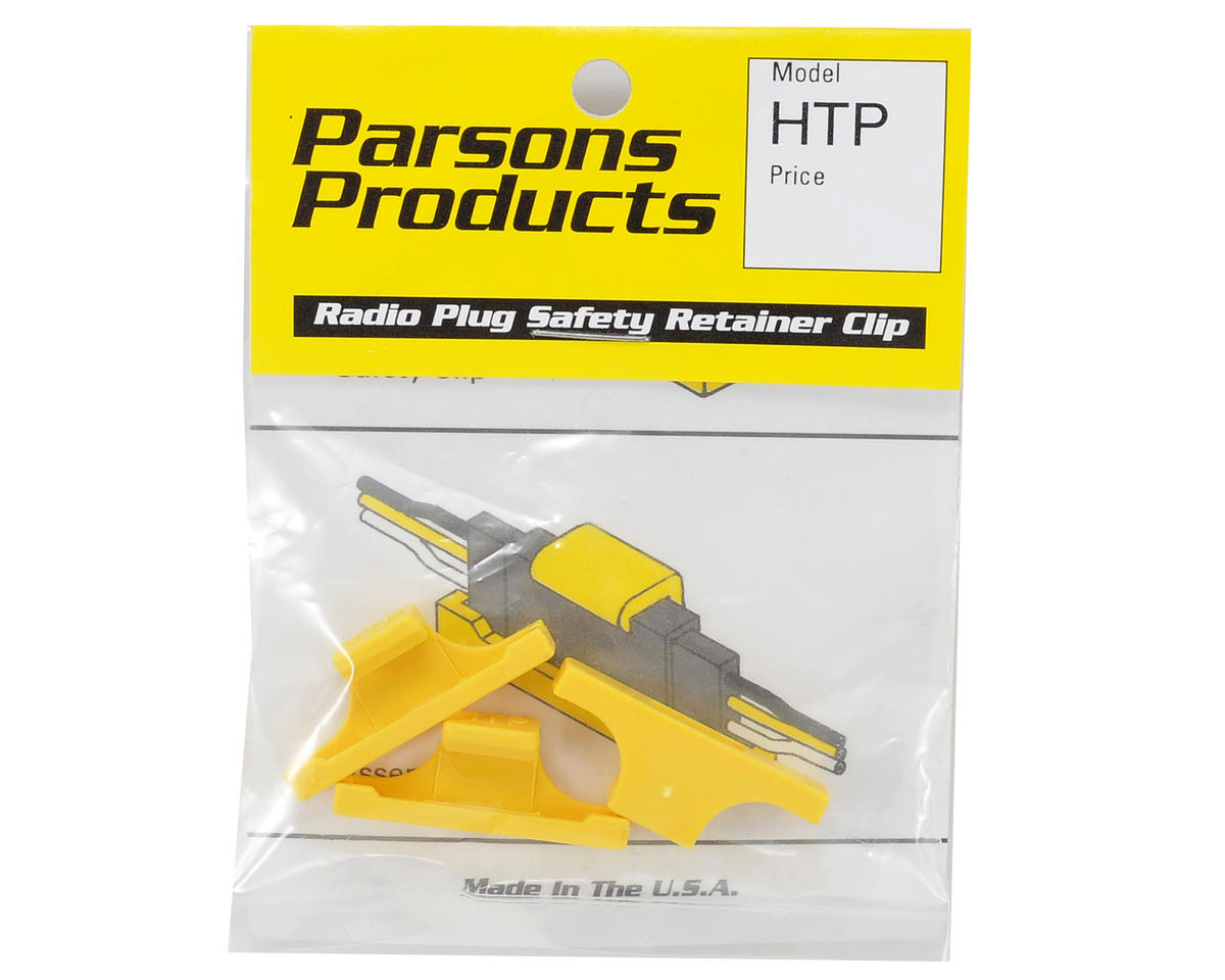 Parson Products Safety Plug Clips (3) (Hitec)