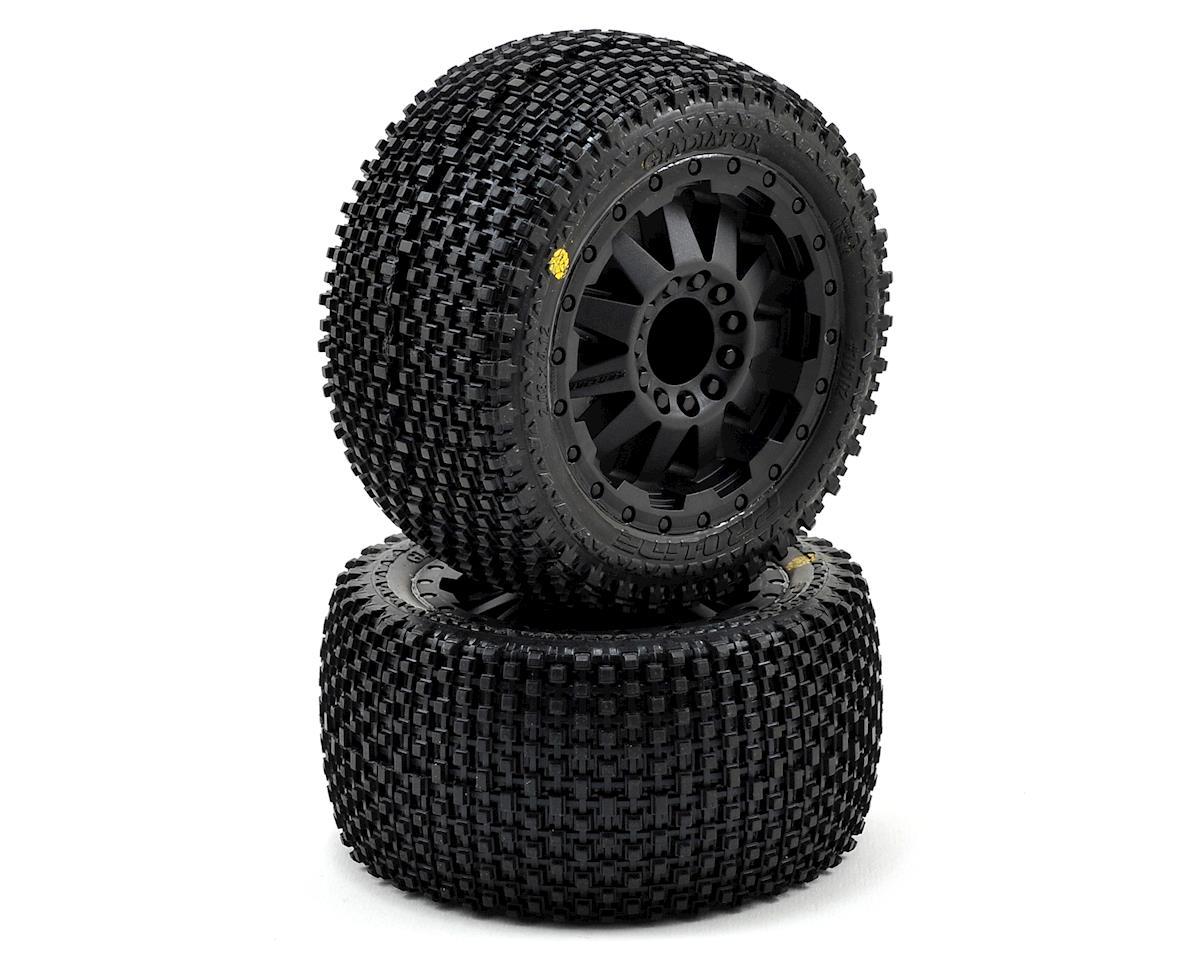 "Pro-Line Gladiator 2.8"" 30 Series w/F-11 Nitro Rear Wheels (2) (Black) (Traxxas Stampede)"