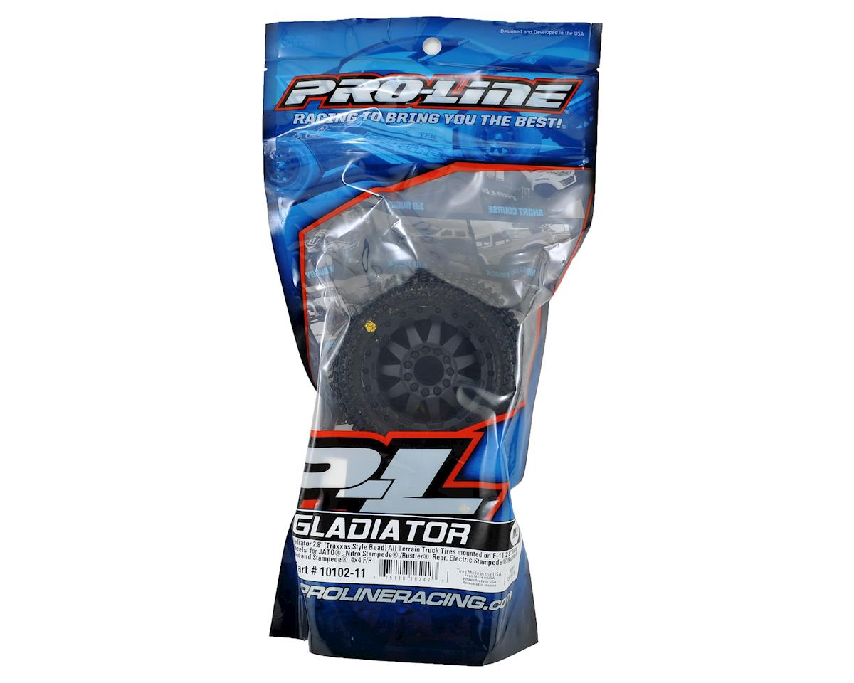 "Pro-Line Gladiator 2.8"" 30 Series w/F-11 Nitro Rear Wheels (2) (Black) (M2)"