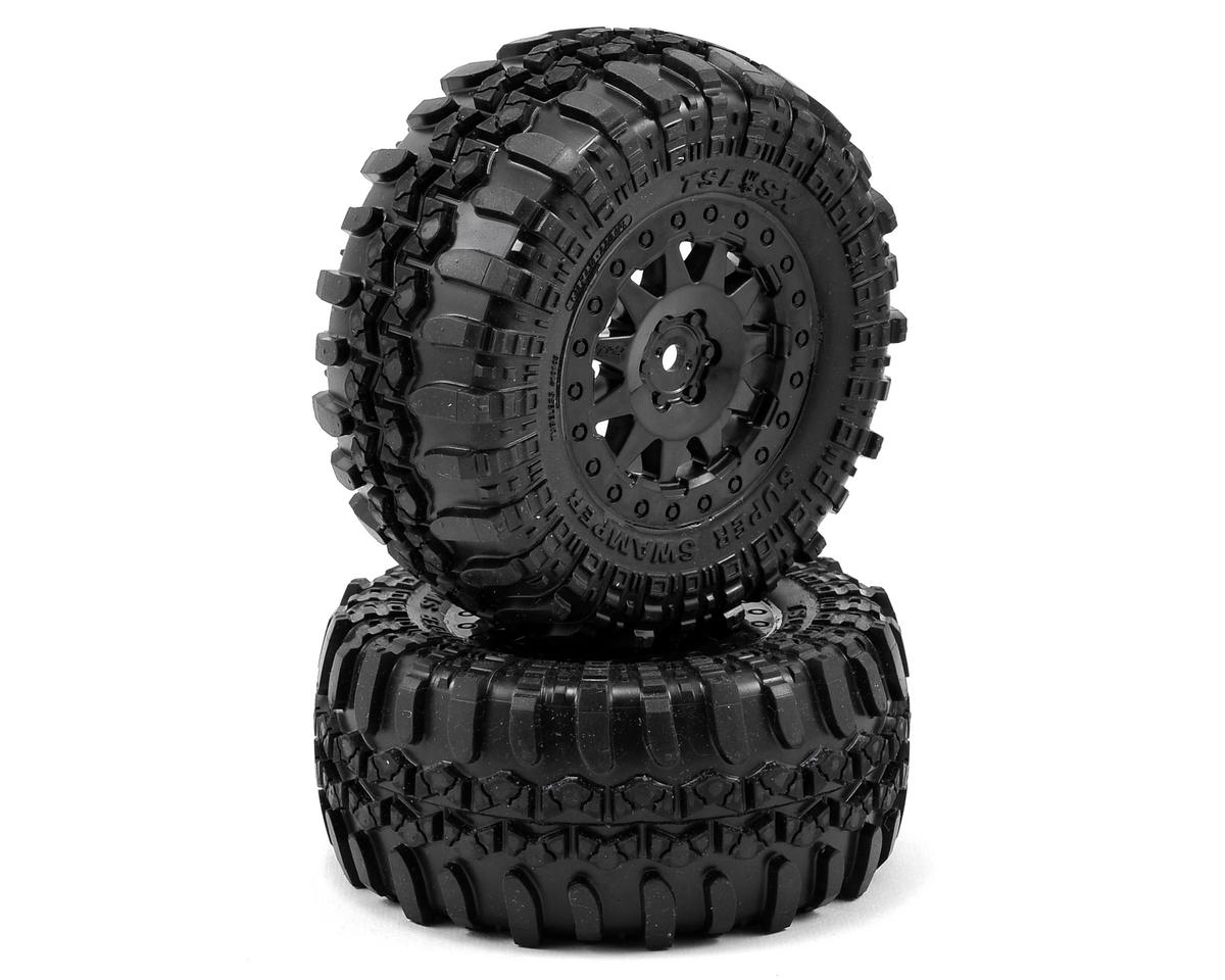 Pro-Line Interco TSL SX Super Swamper SC Tires w/ProTrac F-11 Wheels (2) (Traxxas Slash 4x4)