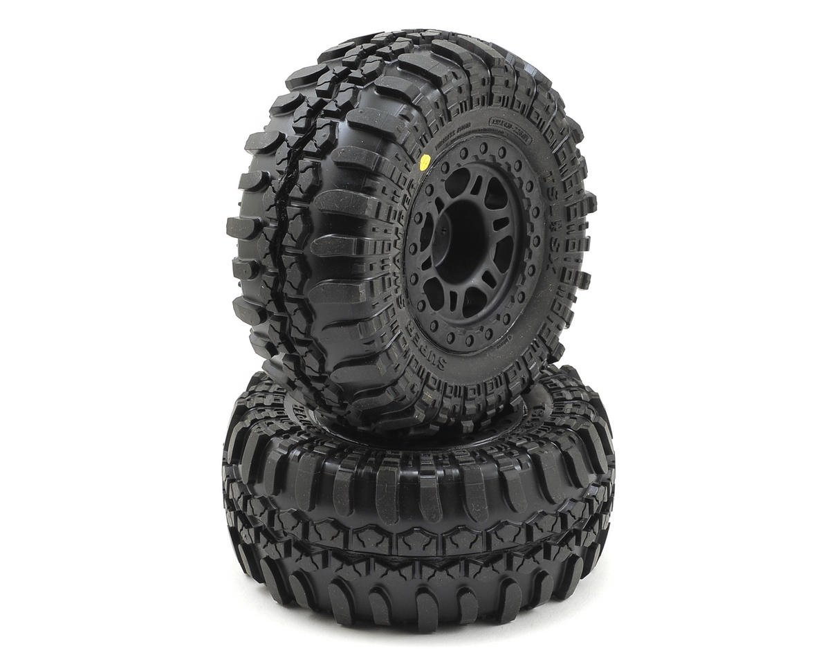 Pro-Line Interco TSL SX Super Swamper SC Tires w/Split Six Rear Wheels (2) (OFNA Jammin SCRT 10 Nitro)