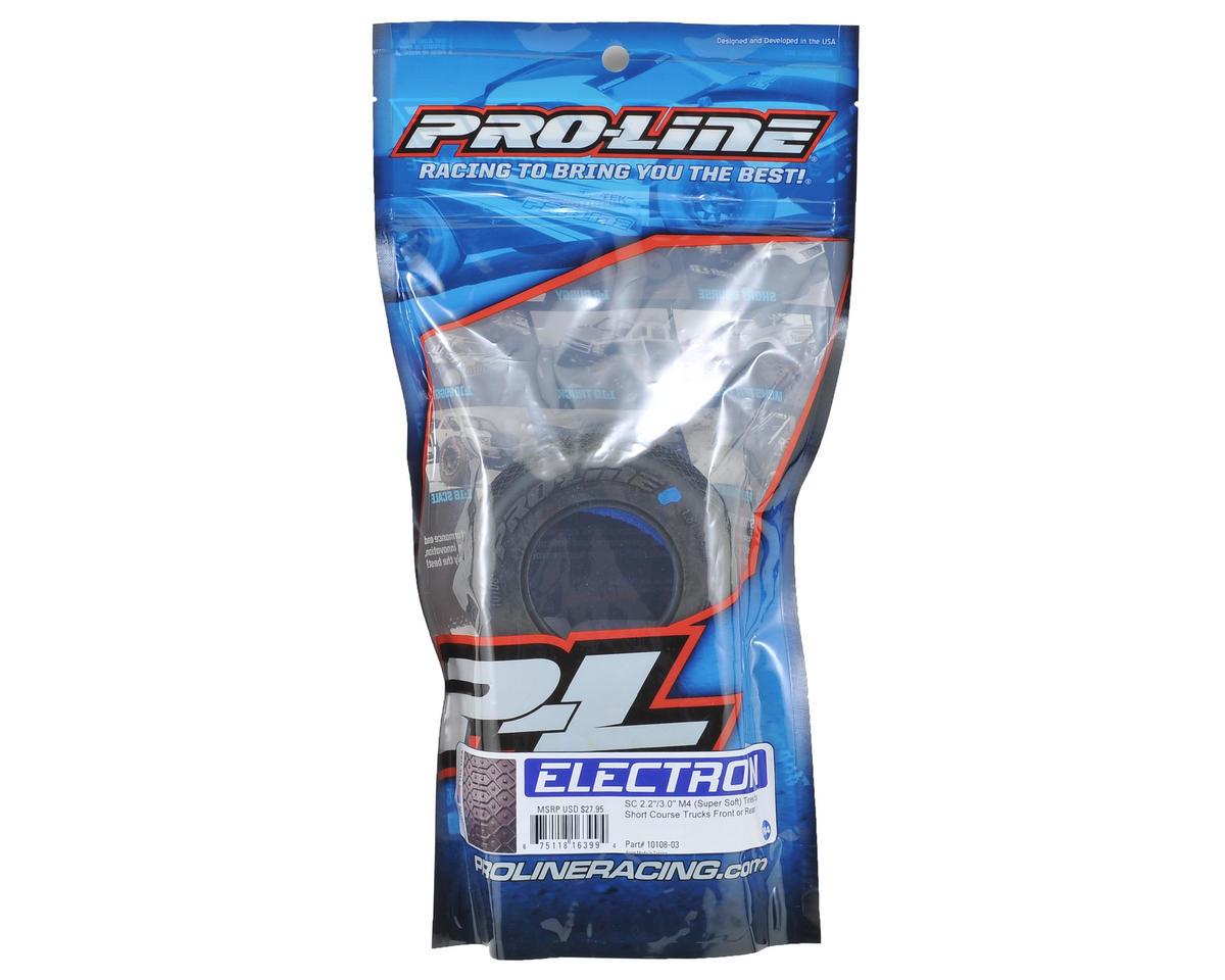 """Pro-Line Electron SC 2.2/3.0"""" Short Course Truck Tires (2) (M4)"""