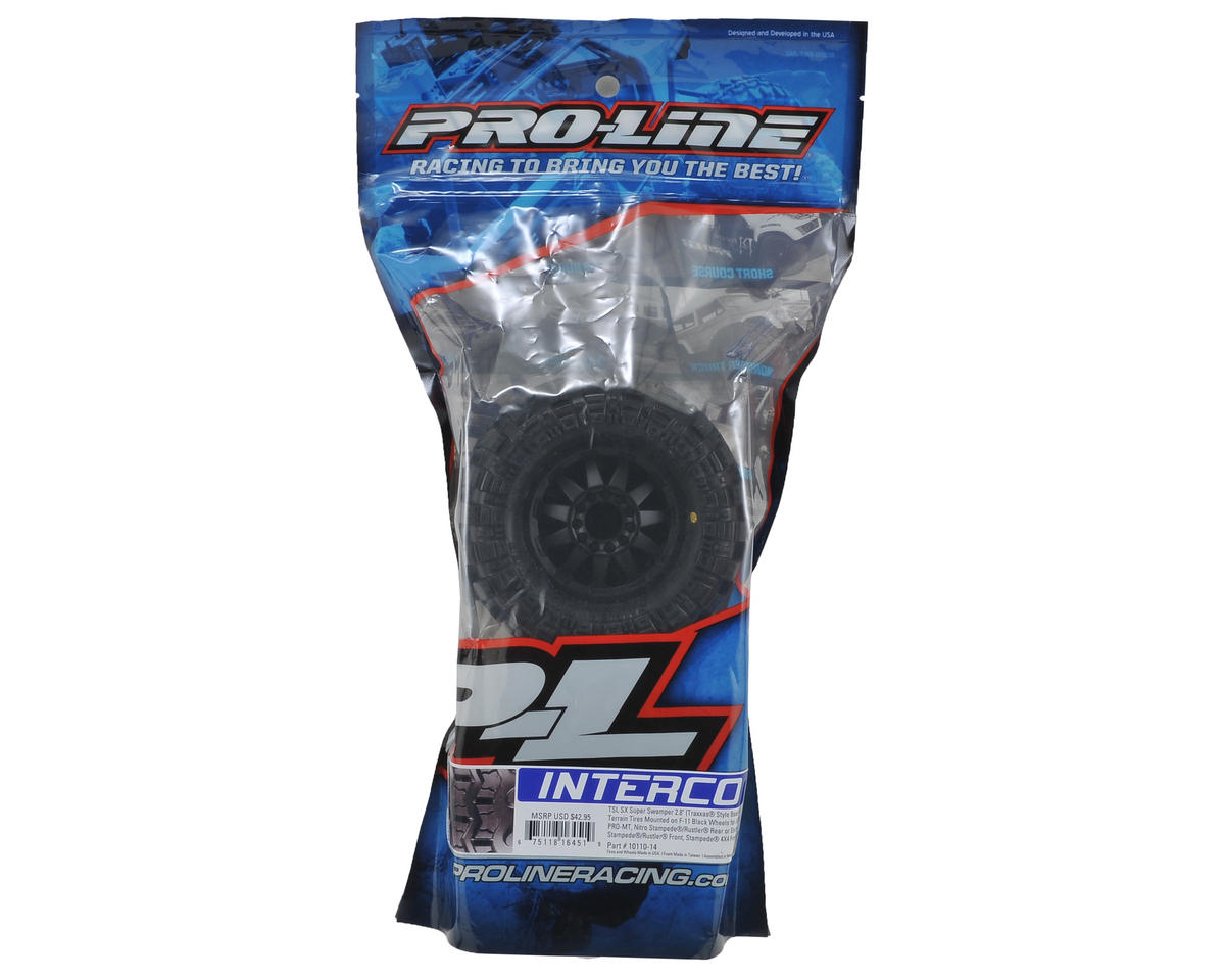 Pro-Line Interco TSL SX Super Swamper 2.8 (2) (Black) (M2)