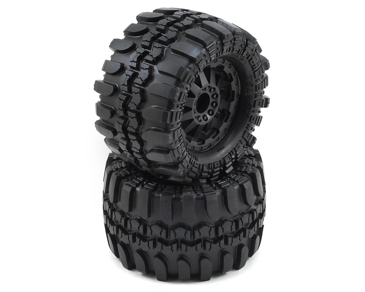 "Pro-Line Interco TSL SX Super Swamper 2.8"" Pre-Mounted Tires (2) (Black) (M2)"