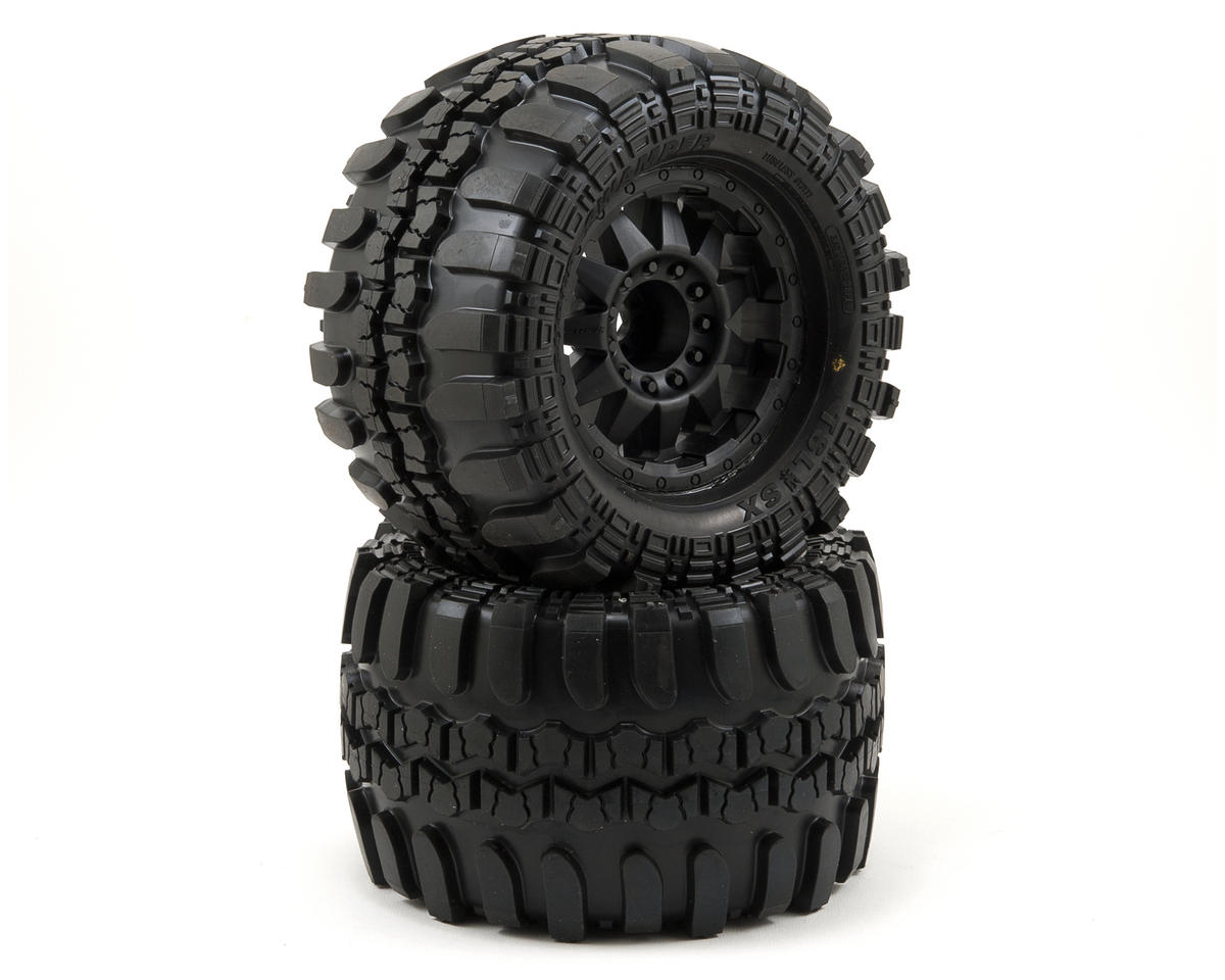 "Pro-Line Interco TSL SX Super Swamper 3.8"" Tire 17mm 1/2"" Offset (Black) (Traxxas Revo)"