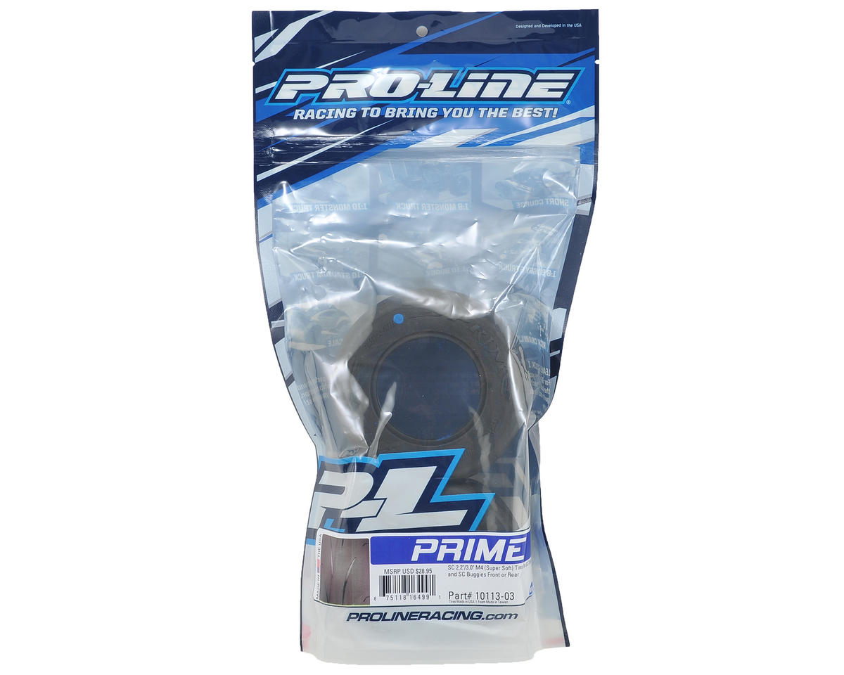 """Pro-Line Prime SC 2.2/3.0"""" Short Course Truck Slick Tires (2) (M4)"""
