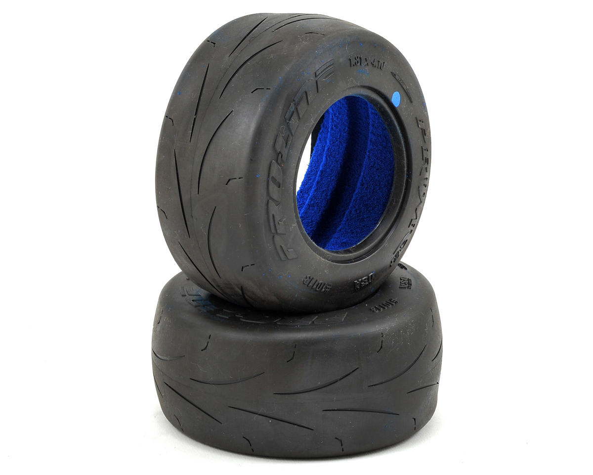 "Prime SC 2.2/3.0"" Short Course Truck Slick Tires (2) (MC) by Pro-Line"
