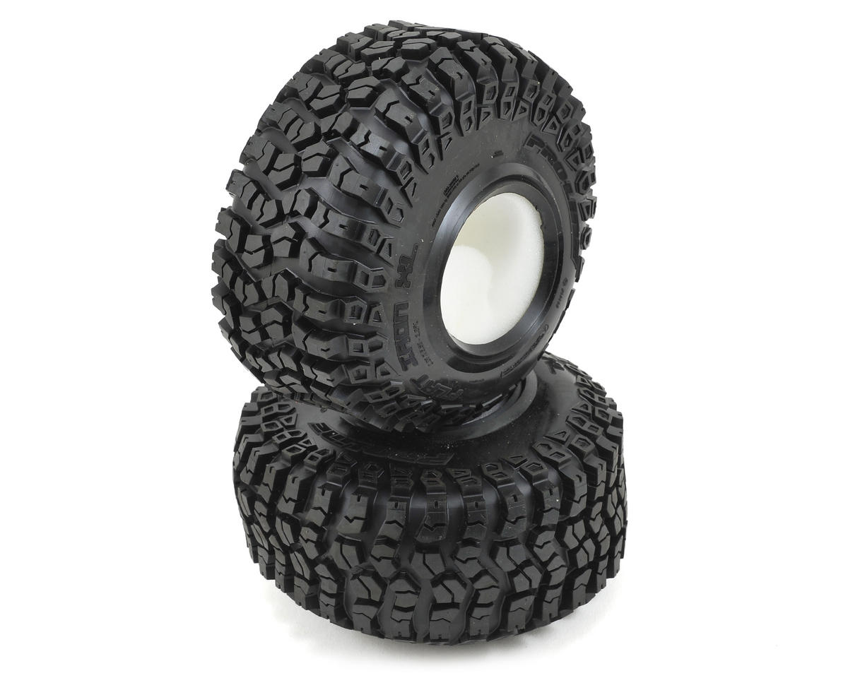 "Pro-Line Flat Iron XL 2.2"" Rock Crawler Tires w/Memory Foam (2) (G8)"