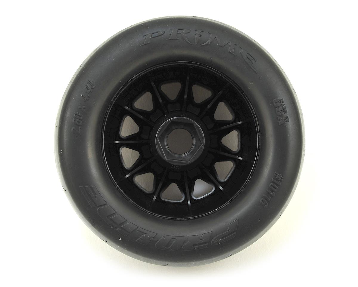"Pro-Line Prime 2.8"" Tires w/F-11 Nitro Rear Wheels (2) (Black)"