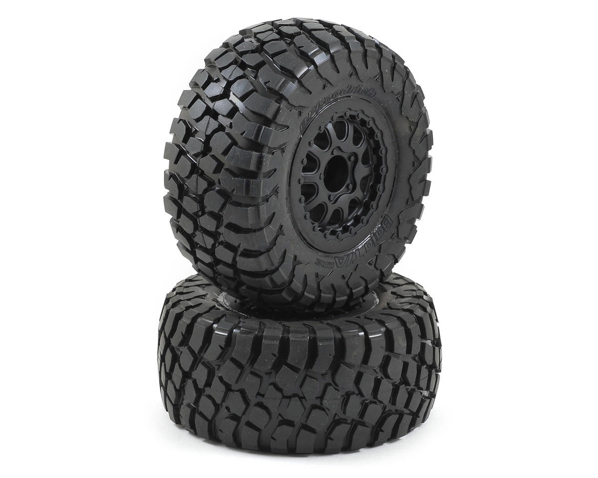 Pro-Line BFGoodrich Baja T/A KR2 Tires w/Renegade Wheels (2) (Slash Rear) (Traxxas Slash 4x4 Ultimate)