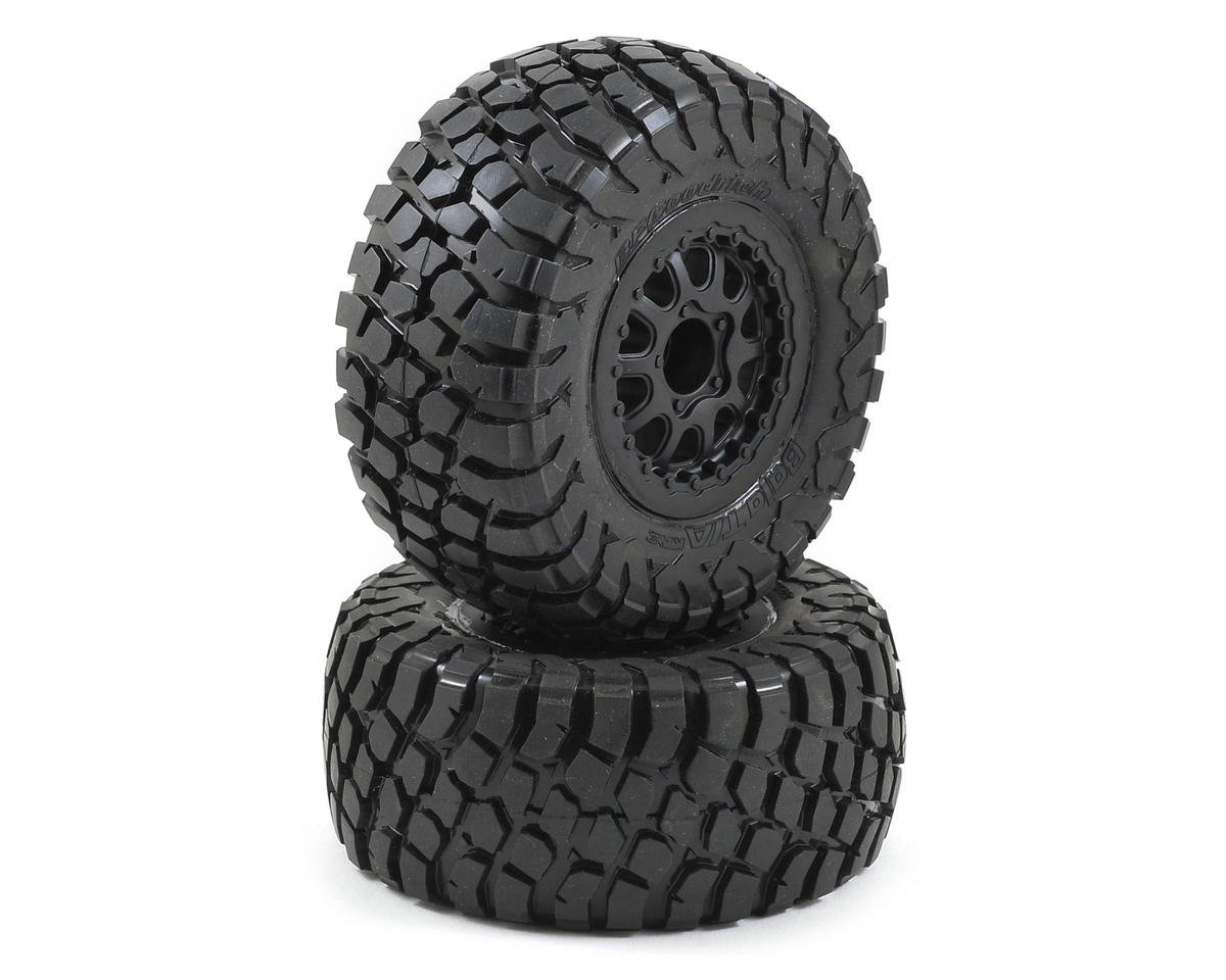 Pro-Line BFGoodrich Baja T/A KR2 Tires w/Renegade Wheels (2) (Slash Rear) (Traxxas Slash 4x4)