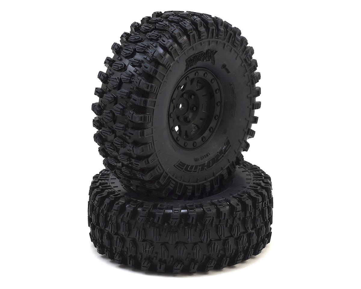 "Pro-Line Hyrax 1.9"" Tires w/Impulse Wheels (Black) (2) w/12mm Hex"