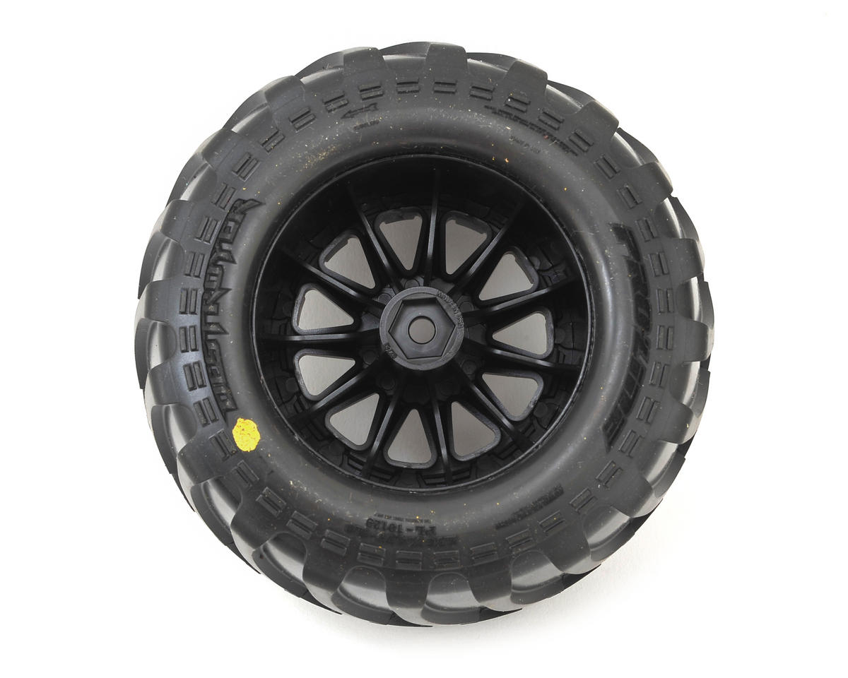"Pro-Line Destroyer 2.8"" Tires w/F-11 Nitro Rear Wheels (2) (Black)"