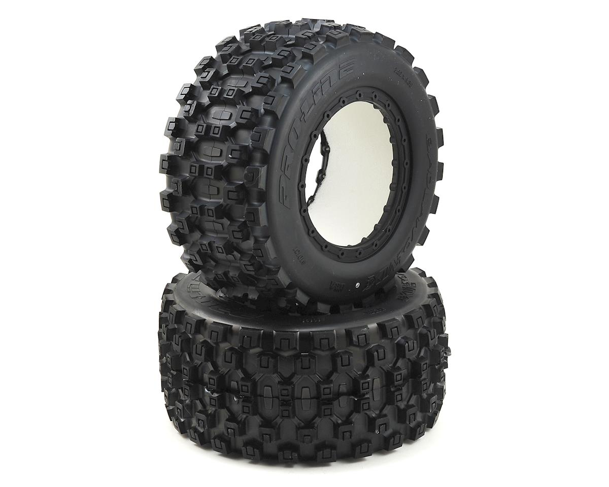 Badlands Pro-Loc All Terrain Tires (2) (X-Maxx) by Pro-Line
