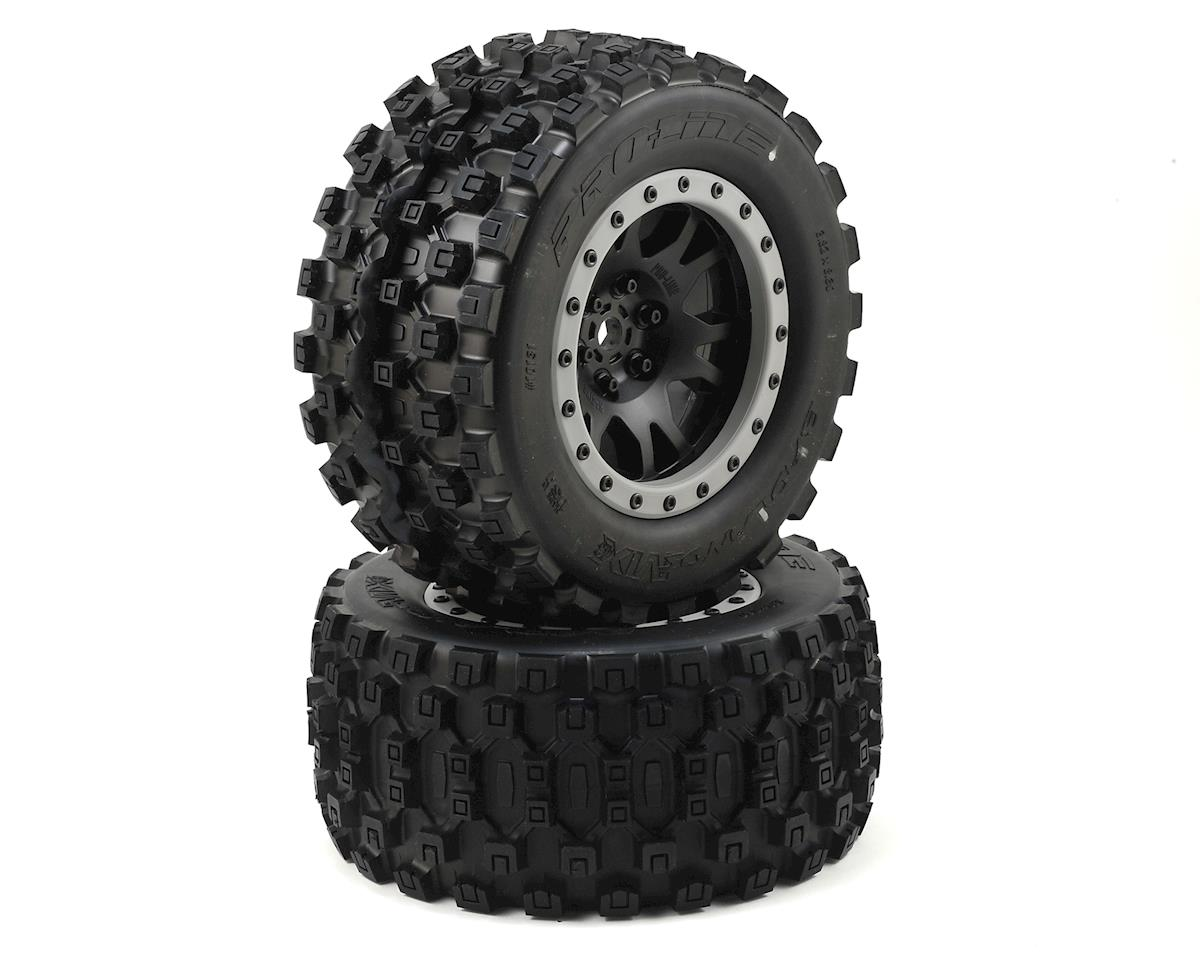 Pro-Line X-Maxx Badlands MX43 Pro-Loc Pre-Mounted All Terrain Tires
