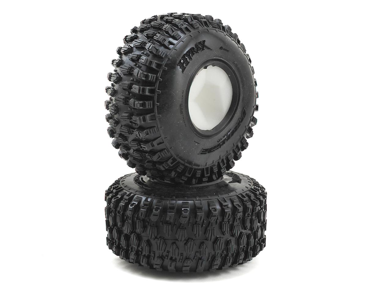 """Hyrax 2.2"""" Rock Terrain Crawler Tires w/Memory Foam (2) (G8) by Pro-Line"""