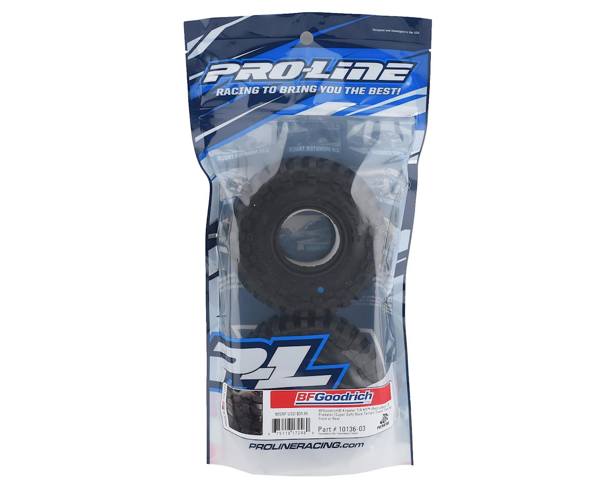 "Pro-Line BFGoodrich Krawler T/A KX 1.9"" Rock Crawler Tires (2) (Predator)"