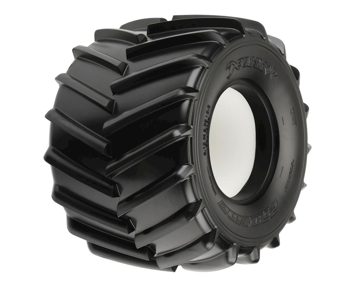devastator 2 6 monster truck tires 2 m3 by pro line pro10138 02 cars trucks hobbytown. Black Bedroom Furniture Sets. Home Design Ideas