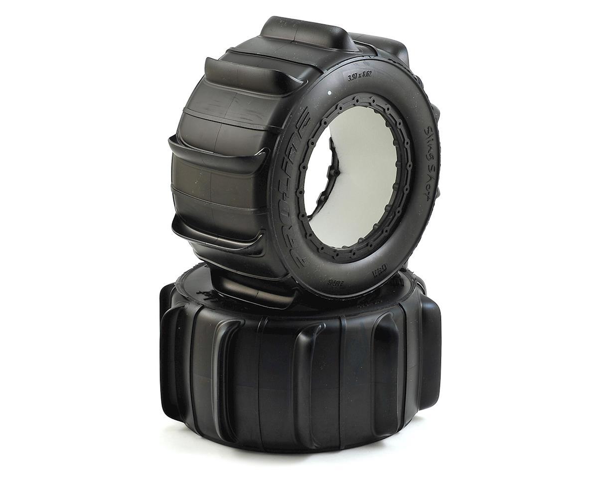 """Pro-Line X-Maxx Sling Shot 4.3"""" Pro-Loc Sand Truck Tires (2)"""