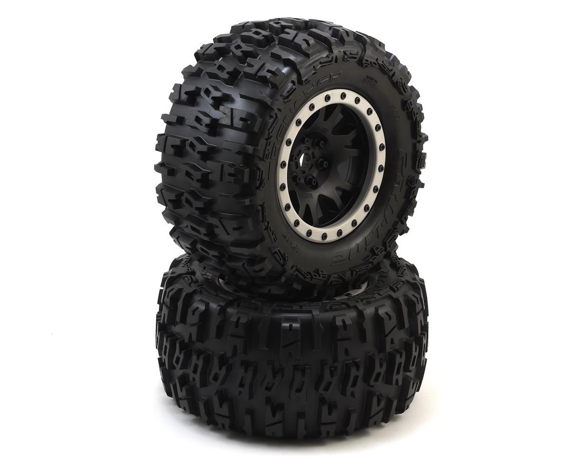 All Terrain Tires >> Pro Line X Maxx Trencher Pro Loc Pre Mounted All Terrain Tires Mx43 W Impulse Pro Loc Wheels Black 2