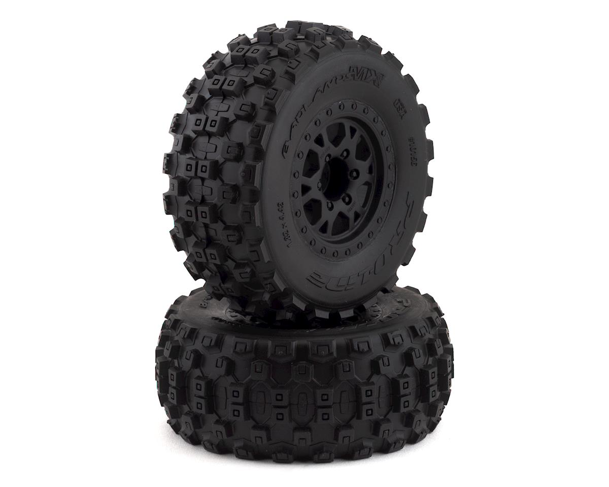 Pro-Line Badlands MX SC Tires w/Split Six Wheels (2) (Slash Rear) (M2)