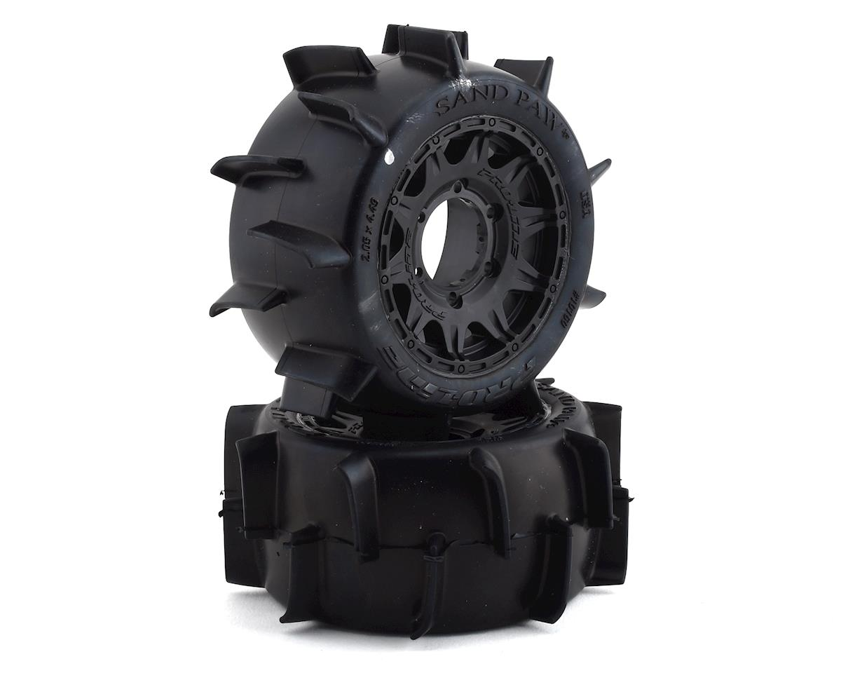 Pro-Line 30 Series Sand Paw LP 2.8 w/Raid Electric Rear Wheels (2) (Black) (Traxxas Jato)