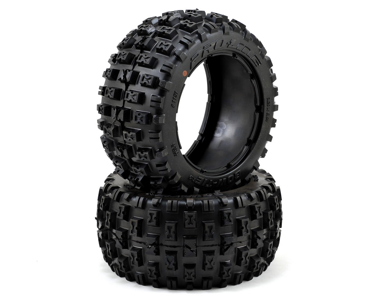 Bow-Tie Rear 1/5 Buggy Tire (2) (No Foam) (XTR) by Pro-Line
