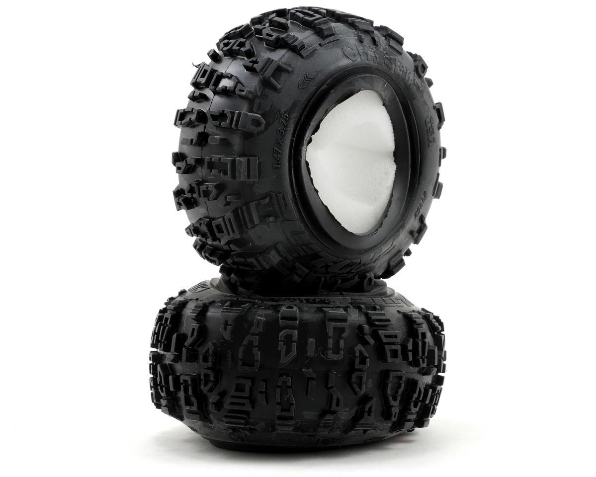 """Pro-Line Chisel 1.9"""" G8 Rock Terrain Tires w/Memory Foam"""